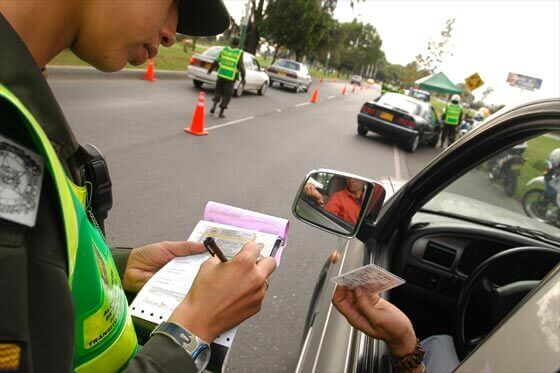 Consulta multas de tránsito