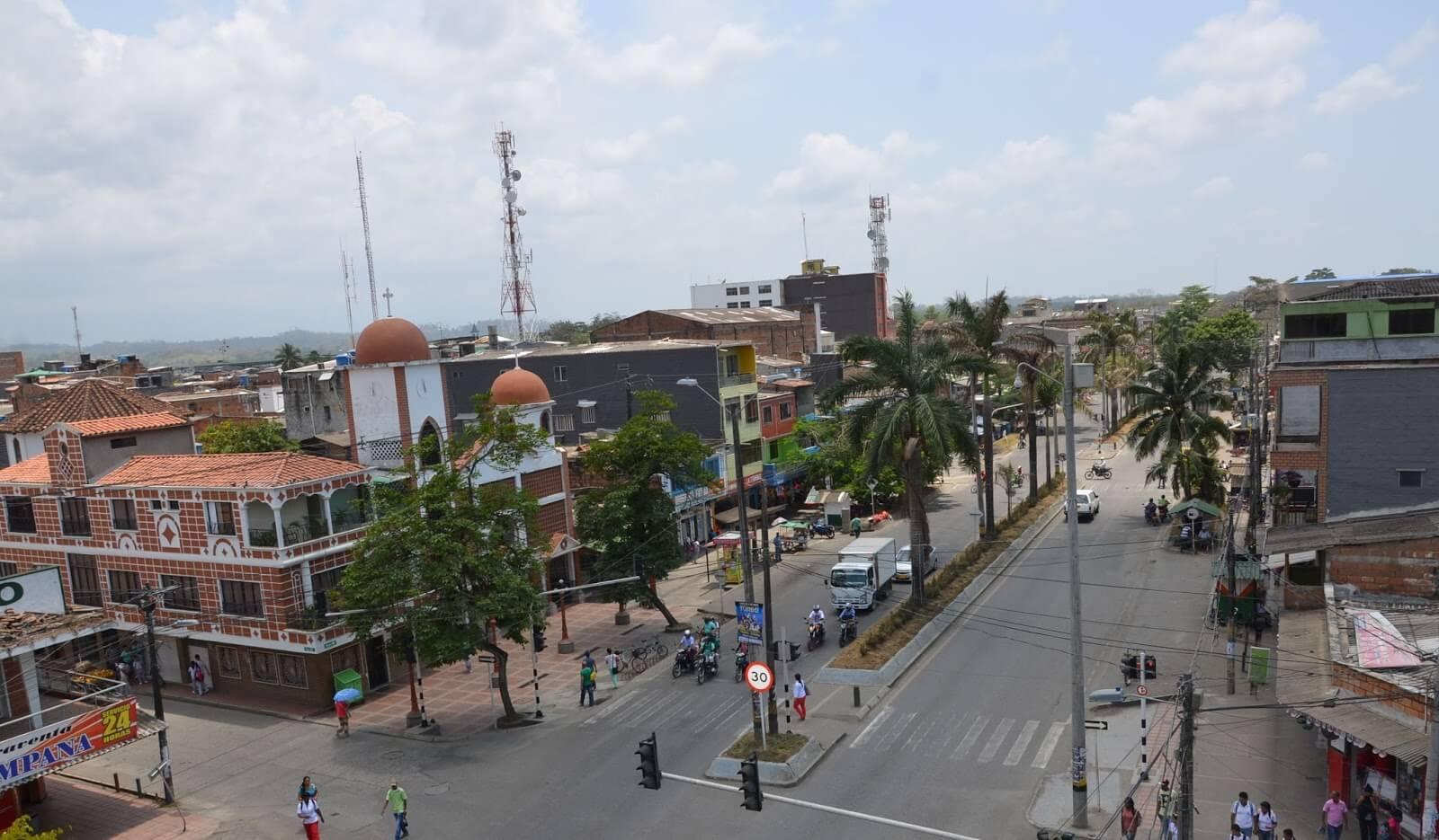 Municipio de Apartadó en Urabá