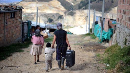 Desplazados en Riosucio