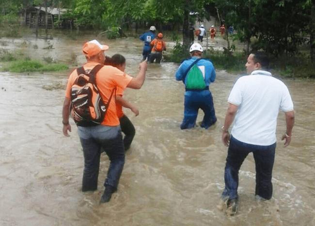 Inundaciones en Apartadó