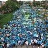 Caminata de Felipe Cañizalez en Apartadó, la más grande en la historia de Urabá
